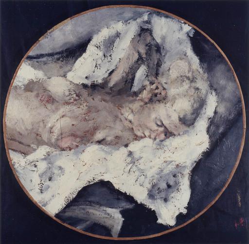 Paolo VALLORZ - Painting - Janine, la blonde d'Amiens, Paris, 1966