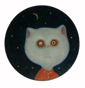 Roman ANTONOV - Painting - Tom cat
