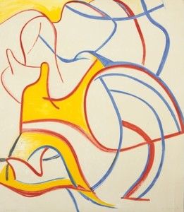 Willem DE KOONING, FROM FOUR LITHOGRAPHS  1986