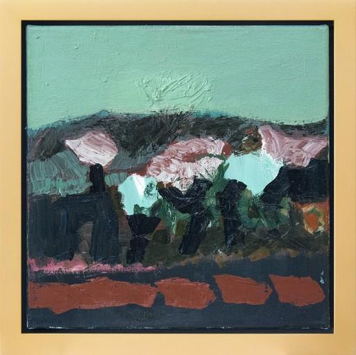 Jennifer HORNYAK - Pintura - Going by Trees in Spring