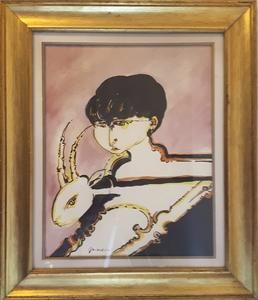 """Remo BRINDISI - Peinture - """"Pastorella"""""""