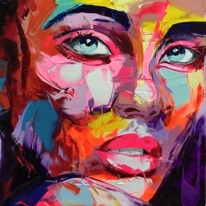 Françoise NIELLY - Painting - Constance