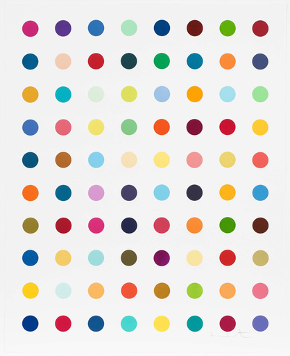 Damien HIRST - Print-Multiple - Gly Gly Ala