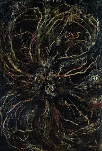 Theodora BERNARDINI - Painting - Explosion1