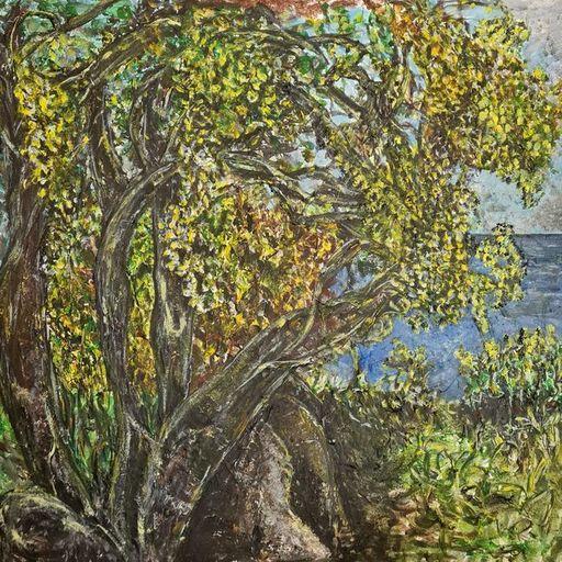 Marie BALDOVINI - Painting - Crique