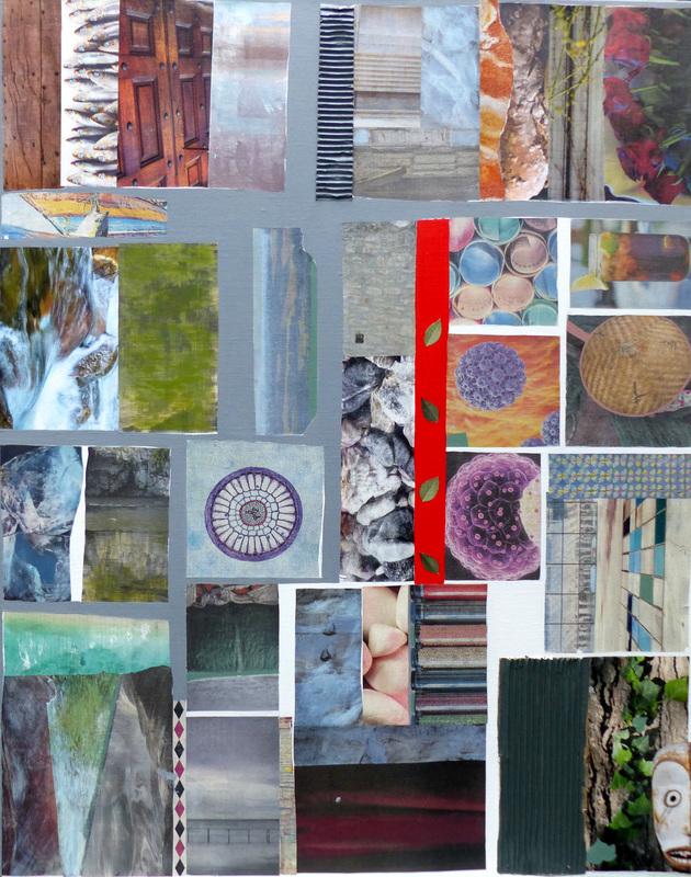 Christine GROSARU-BLETON - Peinture - Collages 9