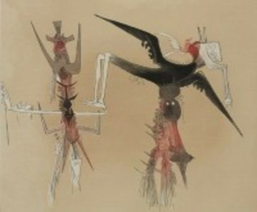 Wifredo LAM - Grabado - Untitled Suite
