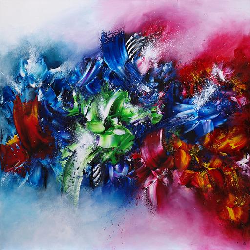 Estelle BARBET - Peinture - Colors of Love