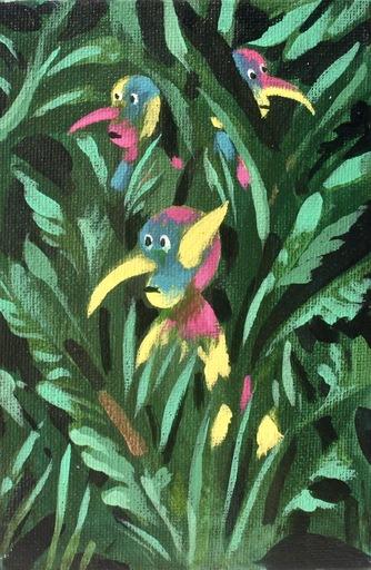 Damir MURATOV - Painting - Spirit of Grass 4