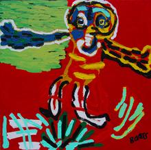 Menno BAARS - Painting - Spread Your Wings