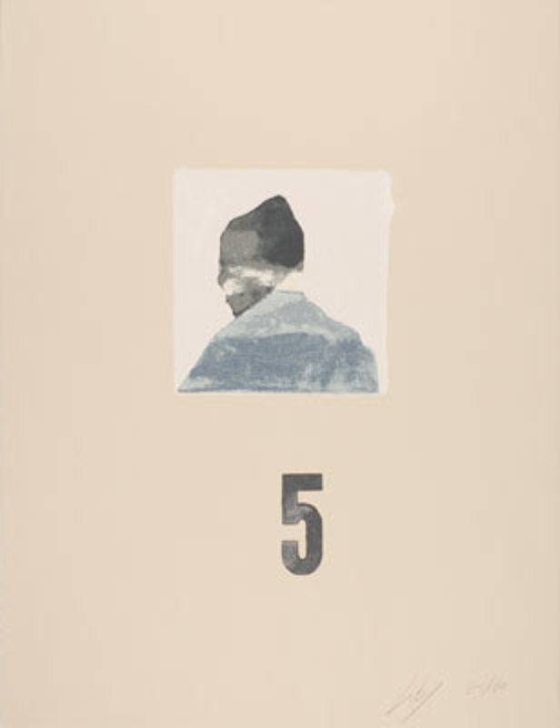 Luc TUYMANS - Estampe-Multiple - Zelfportret