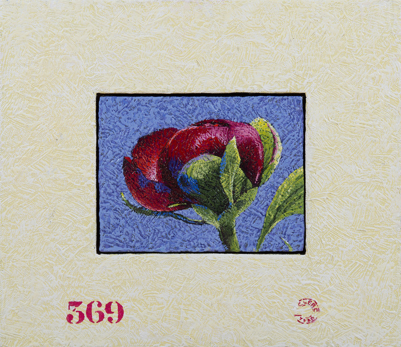 Yves CLERC - Painting - N°369