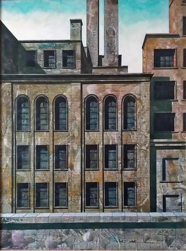 Tonino CAPUTO - Painting - Due ciminiere