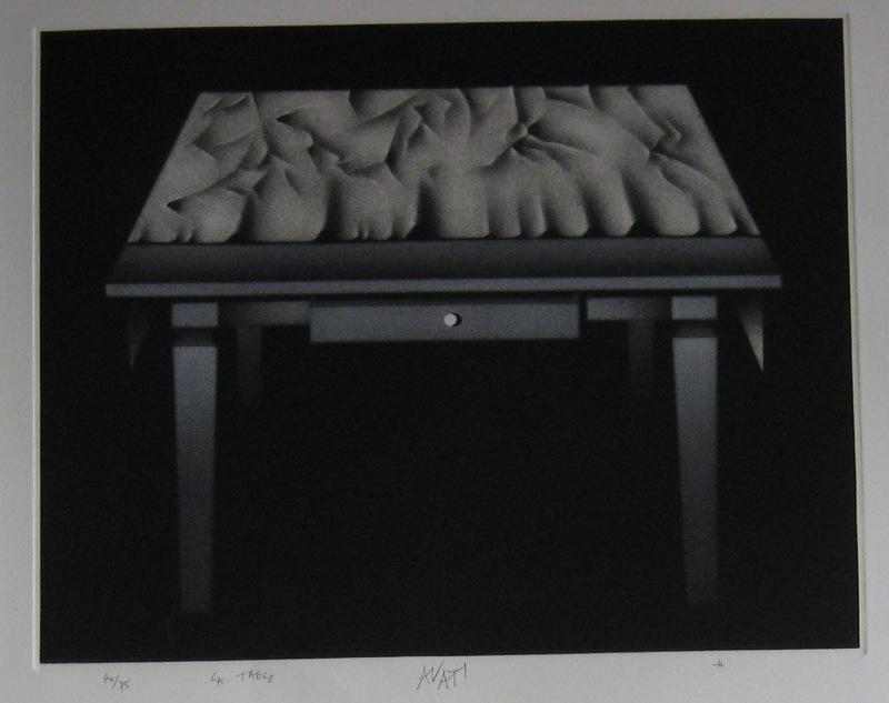 Mario AVATI - Druckgrafik-Multiple - GRAVURE SIGNÉE AU CRAYON NUM/75 HANDSIGNED NUMB ETCHING
