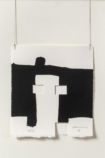 Eduardo CHILLIDA - Print-Multiple - 'Gravitation'. 'Paris'