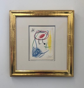 Joan MIRO - Drawing-Watercolor - Untitled