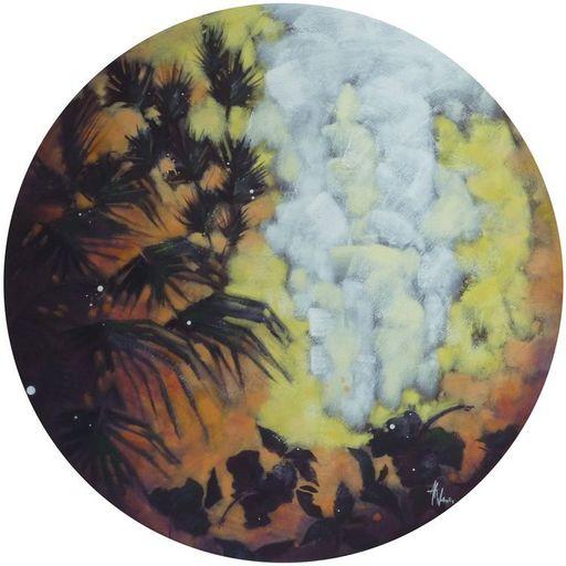 Anne Christine WELLENSTEIN - Peinture - Le jardin de Corinne