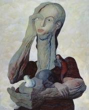 Walter MAC MAZZIERI - Painting - Nei mille anni dell'infanzia