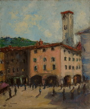 Maurice VAUMOUSSE - Pintura - Côme, Italie
