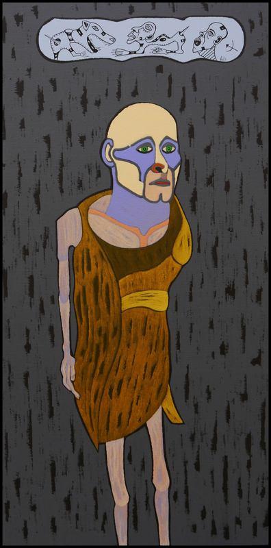KEJ - Painting - Rescapé 1