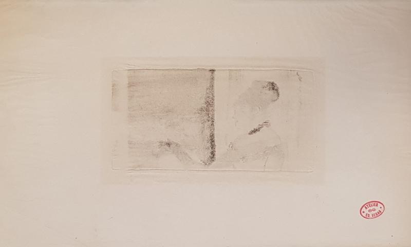 Edgar DEGAS - Print-Multiple - Au café-concert