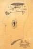 Franciszek STAROWIEYSKI - Zeichnung Aquarell - Portrait of Piotr Wąsik