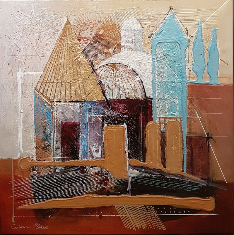 Calman SHEMI - Painting - Jerusalem