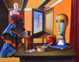 Antonio NUNZIANTE - Gemälde - Fletcher House NY 2012