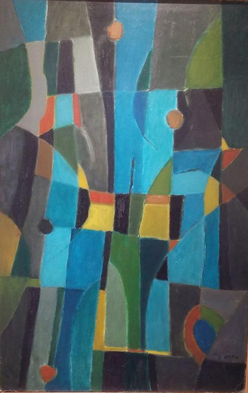 Jorj MORIN - Painting - CREPUSCULE