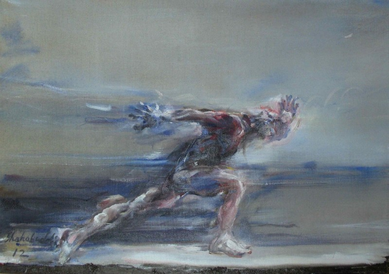 Ahmed SHAHABUDDIN - Pittura - Speed