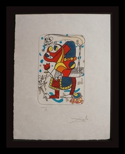 Salvador DALI - Stampa-Multiplo - Playing Cards Joker