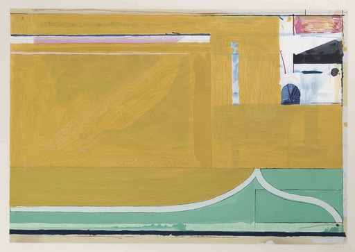 Richard DIEBENKORN - Druckgrafik-Multiple - Orche