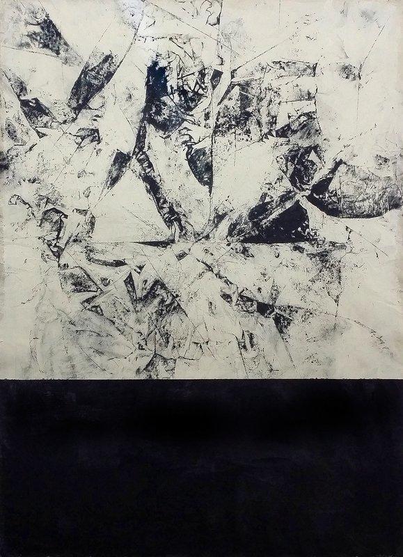 Marco STEFANUCCI - Peinture - Absence et Literature