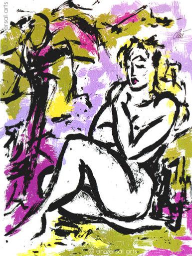 Jacqueline DITT - Estampe-Multiple - Die Unschuld (The Innocence) 1/1 Originalgrafik