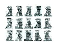 Bernd & Hilla BECHER - Photography - Winding Towers