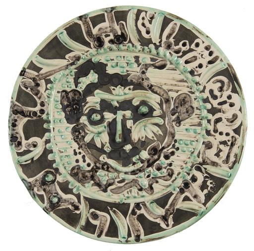 Pablo PICASSO - Ceramiche - Faune au visage tourmenté