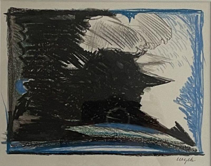 Maurice WYCKAERT - Zeichnung Aquarell - Untitled