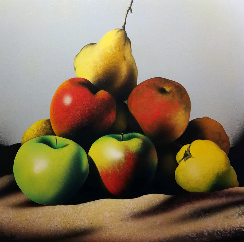 Eduardo URCULO FERNANDEZ - Pintura - Frutas