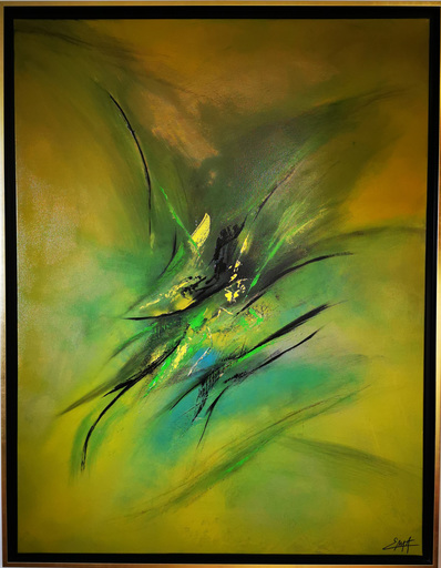 Elodie DOLLAT - Gemälde - Bariragata