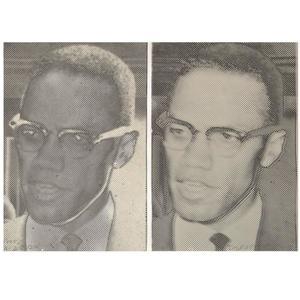 "Joe TILSON - Stampa Multiplo - Joe Tilson ""Malcolm X"" Screen-Prints"