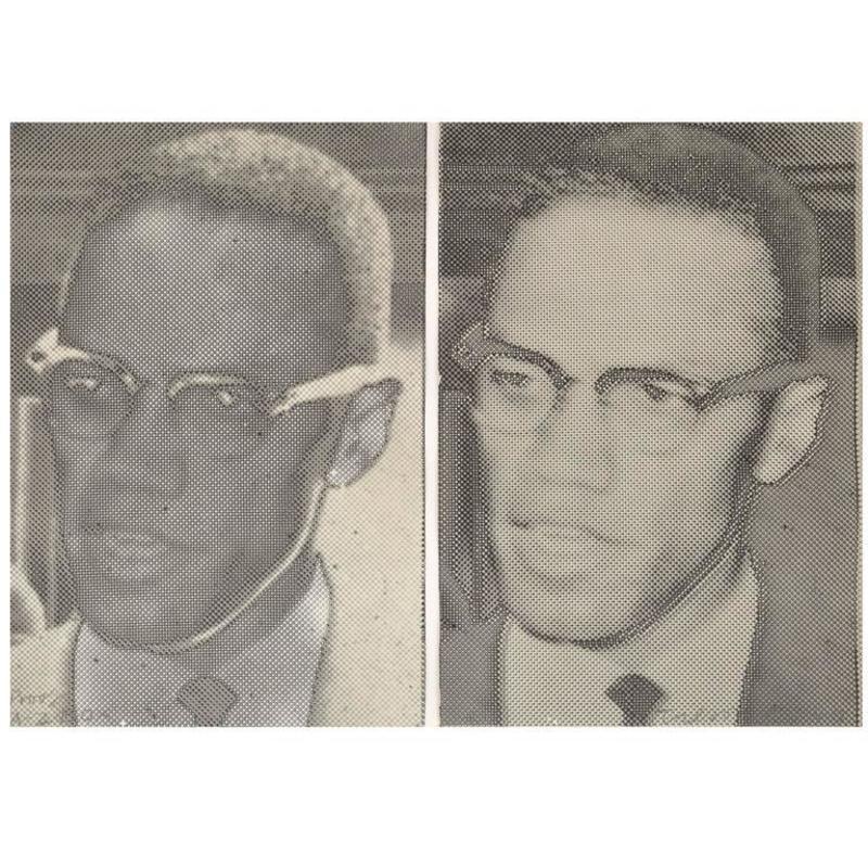 "Joe TILSON - Stampa-Multiplo - Joe Tilson ""Malcolm X"" Screen-Prints"