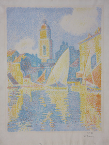 Paul SIGNAC, Port de Saint-Tropez
