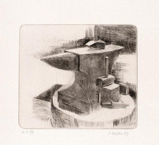Osterhold HEISEKE - Grabado - Der Amboss