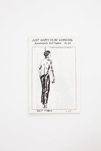 Raymond PETTIBON - Print-Multiple - Just happy to be working