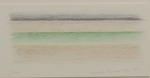 Marie-Thérèse VACOSSIN - Disegno Acquarello - Pluie 20 mai