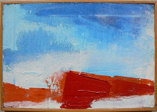 Piero RUGGERI - Painting - Cielo nelle langhe