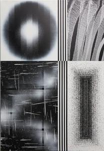 L'OUTSIDER - Peinture - Sensations accumulées #13