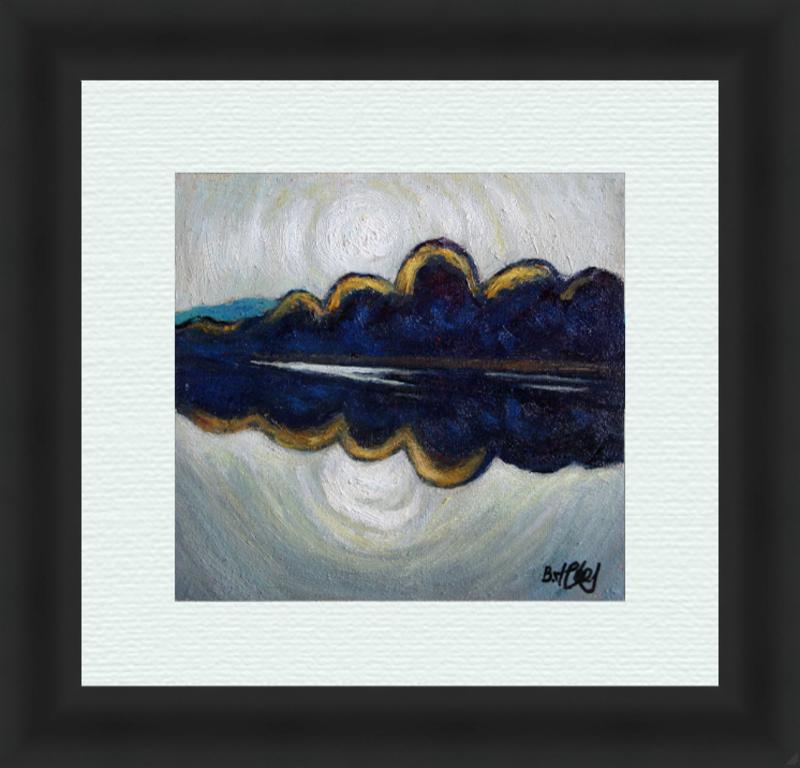 Valeriy NESTEROV - Gemälde - Nizhniy Tagil pond