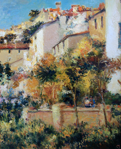 Levan URUSHADZE - Pintura - Sunny Lisbon