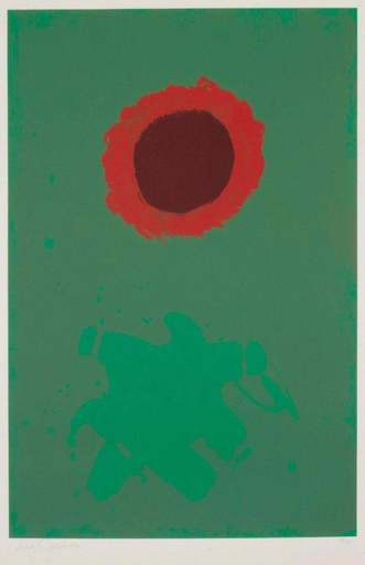 Adolph GOTTLIEB - Print-Multiple - Chrome Green